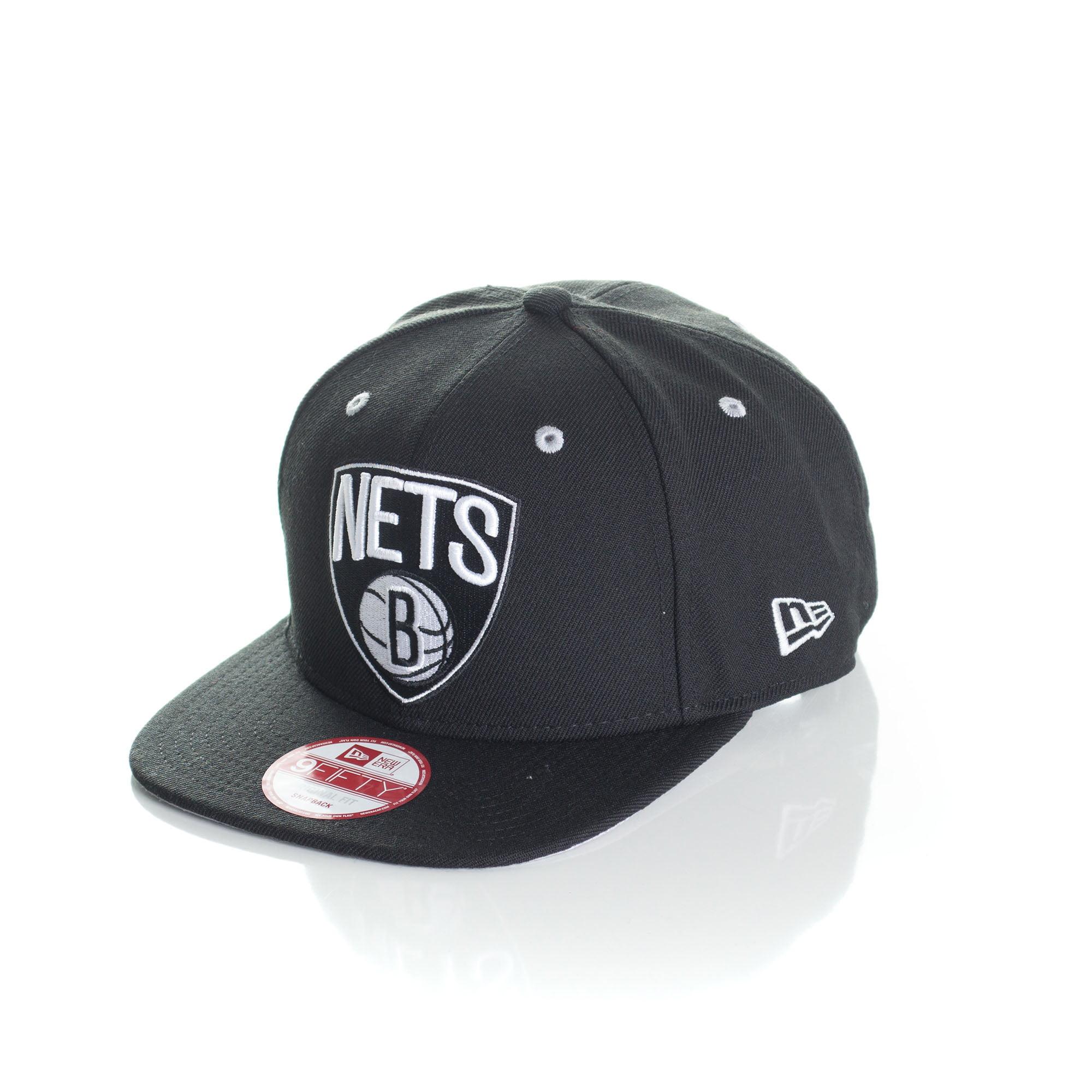 Bone New Era 9Fifty Brooklyn Nets otc