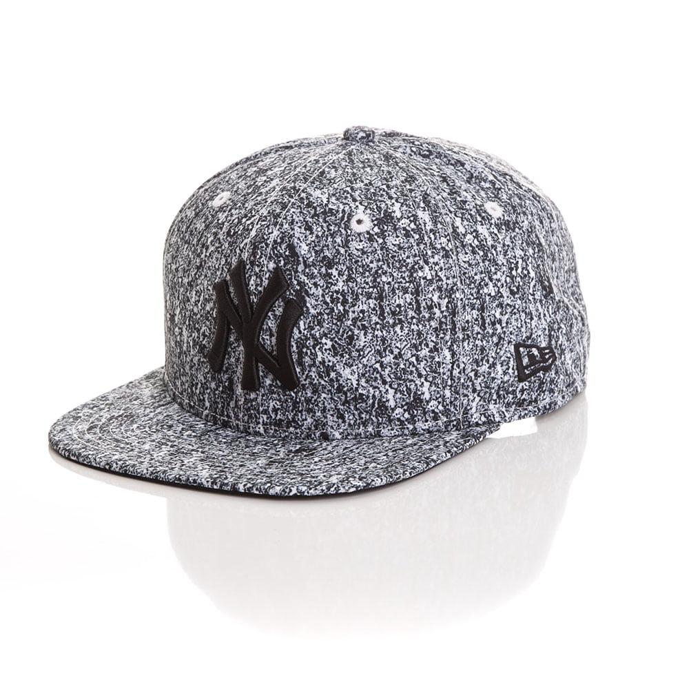 Bone New Era 9Fifty New York Yankees prime preto e branco