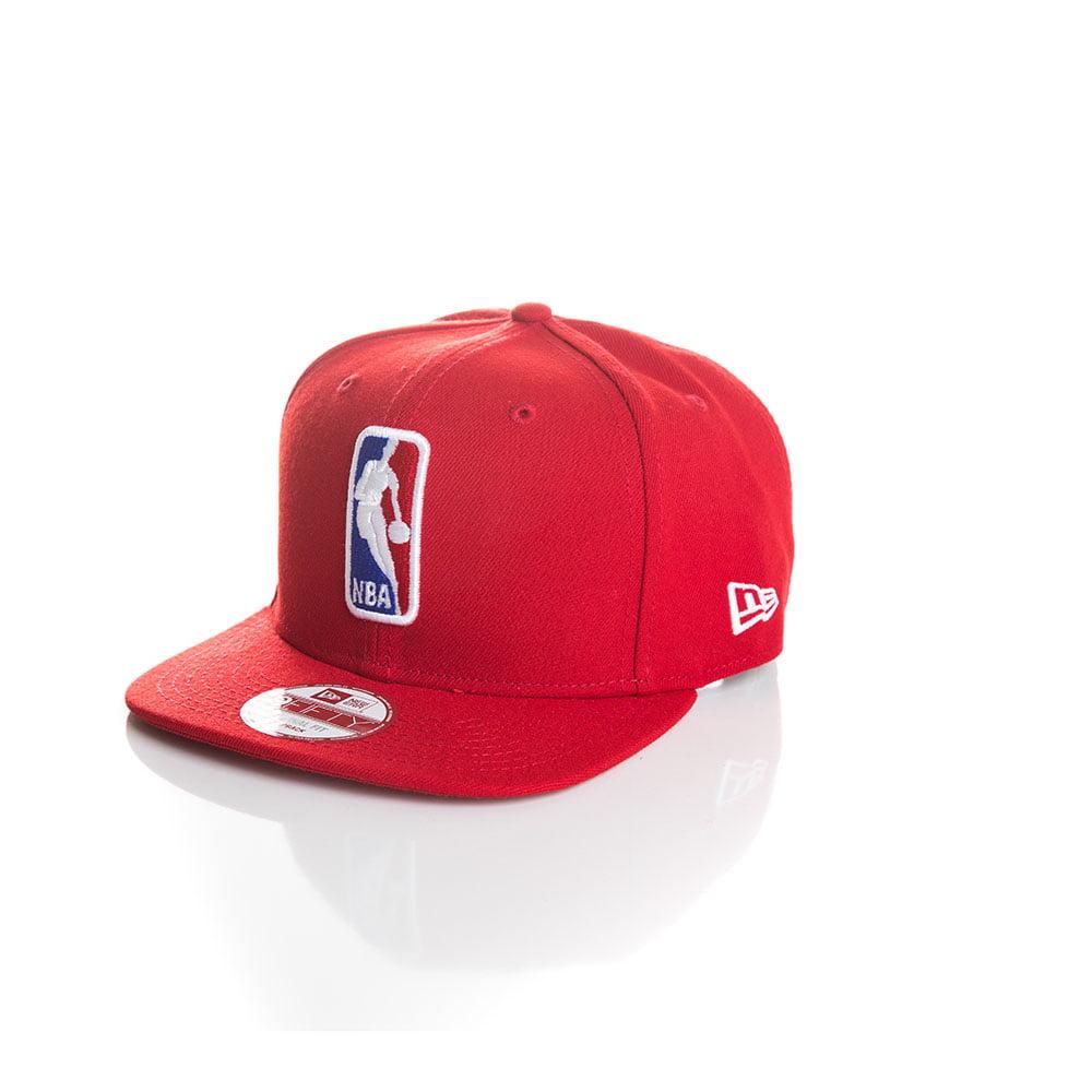 Bone New Era 9Fifty logo NBA vermelho original fit