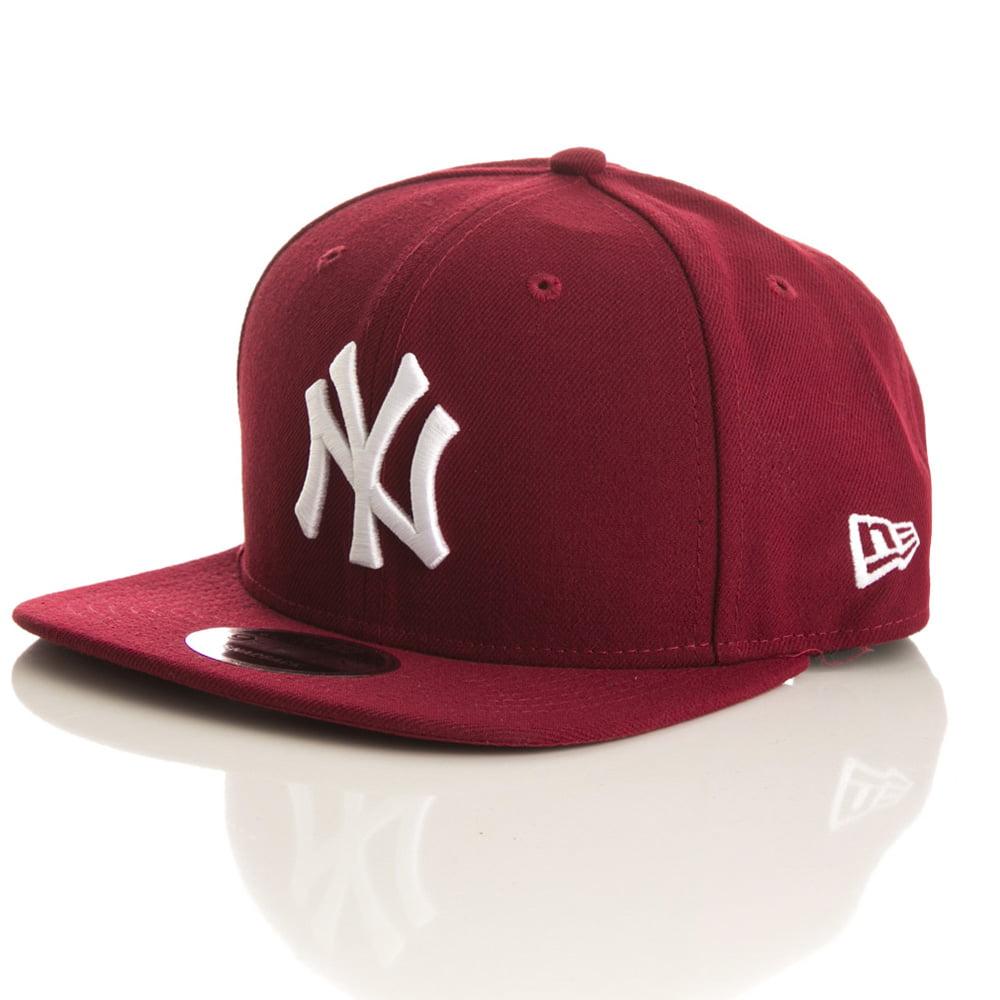Bone New York Yankees New Era 9fifty cardinal