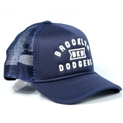 Boné Brooklyn Dodgers New Era A-Frame Snapback Azul