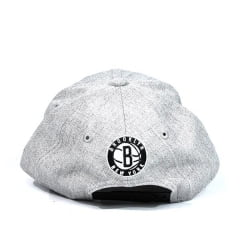 Boné Brooklyn Nets New Era Cinza