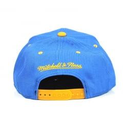 Boné Golden State Warriors Mitchell And Ness Azul
