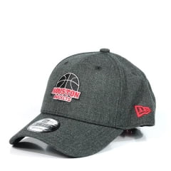 Boné Houston Rockets New Era Cinza