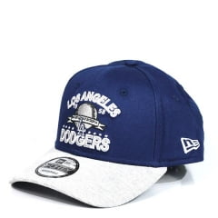 Boné Los Angeles Dodgers New Era Azul com Aba Branca