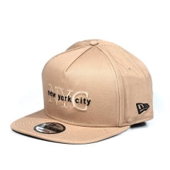 Boné New York City New Era Marrom
