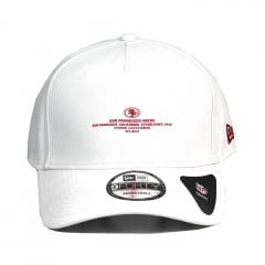 Boné San Francisco 49ers New Era 9Forty aba curva branco