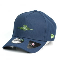 Boné Seattle Seahawks New Era 9Forty aba Curva azul