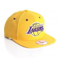 Bone New Era 9Fifty Los Angeles Lakers amarelo otc