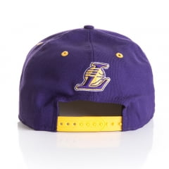 Bone New Era 9Fifty Los Angeles Lakers roxo otc