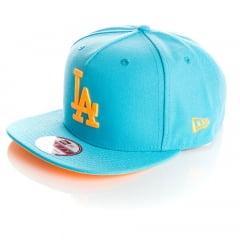 Bone New Era 9Fifty Los Angeles Dodgers vice color snapback