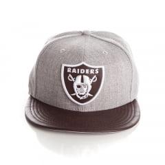 Bone New Era 9Fifty Oakland Raiders strapback