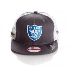 Bone New Era 9Fifty Oakland Raiders trucker snapback