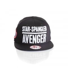 Bone New Era 9Fifty capitao America