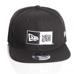 Bone New Era logo 9fifty preto
