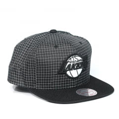 Bone Los Angeles Lakers Mitchell and Ness snapback