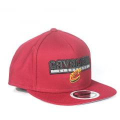 Bone New Era Cleveland Cavaliers 9fifty refletivo Snapback