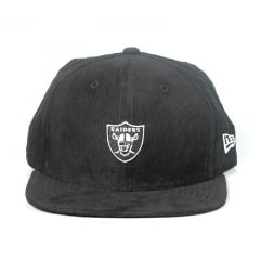 Bone Oakland Raiders New Era 9fifty snapback algodão