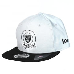 Bone Oakland Raiders New Era 9fifty snapback team headwear