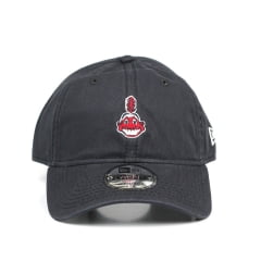 Bone Cleveland Indians New Era 9forty mini logo