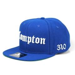Bone Compton starter aba reta azul