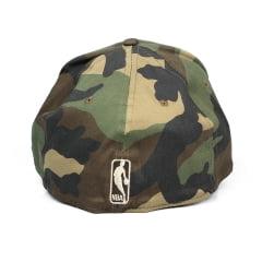Bone Golden State Warriors New Era 39Thirty Verde camuflado