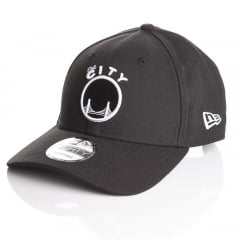 Bone Golden State Warriors New Era 9forty white on black
