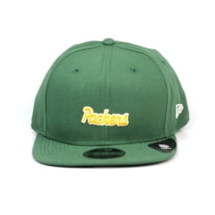 Bone Green Bay Packers New Era 9Fifty mini script