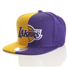 Bone Los Angeles Lakers Mitchell and Ness split