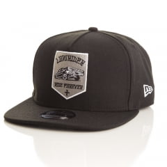 Bone Low Rider New Era 9Fifty aba reta preto