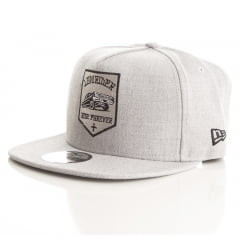 Bone low rider New Era 9fifty aba reta cinza
