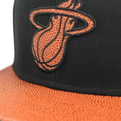 Bone Miami Heat New Era 9fifty basketball