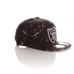 Bone New Era 9fifty Oakland Raiders besprent