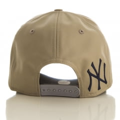 Bone New York Yankees New Era 9forty leather script