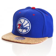 Bone Philadelphia 76ers Mitchell and Ness snapback
